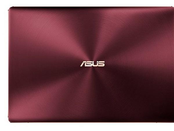 ZenBook S được hoàn thiện với hai màu xanh biển sâu và đỏ rượu vang Burgundy