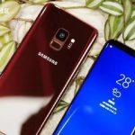 Galaxy S9/S9 Plus màu đỏ tía Burgundy mới.