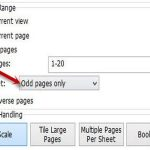 Để in file PDF ra bằng cách in 2 mặt trong Word một cách thủ công, chúng ta cũng thực hiện theo nguyên lý như với Word