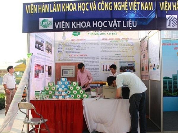 Giới thiệu sản phẩm của Viện Hà lâm KH-CN Việt Nam.