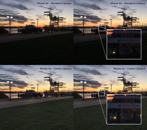 Ứng dụng chụp ảnh Cortex Camera