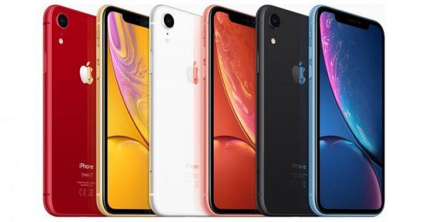iPhone XR có bộ sưu tập màu sắc đa dạng hơn