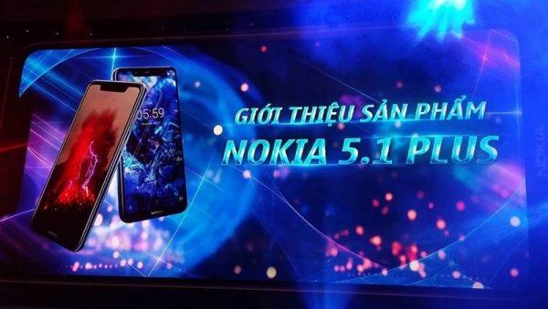 Nokia 5.1 Plus ra mắt tại Việt Nam