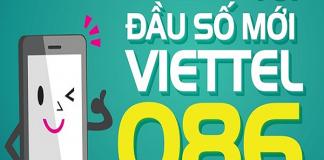 Tổng hợp các đầu số của viettel 2018 mới nhất sau khi chuyển đổi