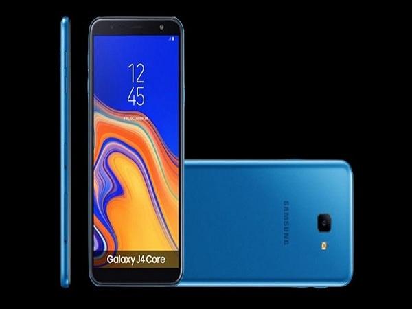 Samsung Galaxy J4 Core chính thức ra mắt: Android Go, RAM 1GB
