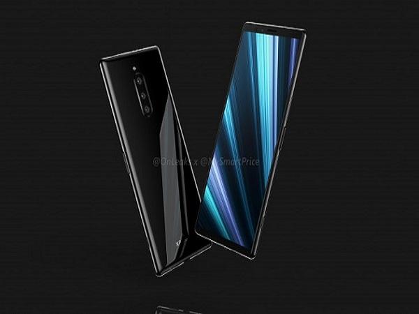 Lộ diện concept Sony Xperia XZ4 với màn hình tỉ lệ 21:9, với 3 camera sau