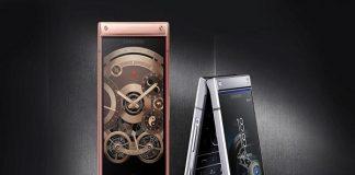 điện thoại nắp gập Samsung W2019 giá đắt hơn iPhone XS Max