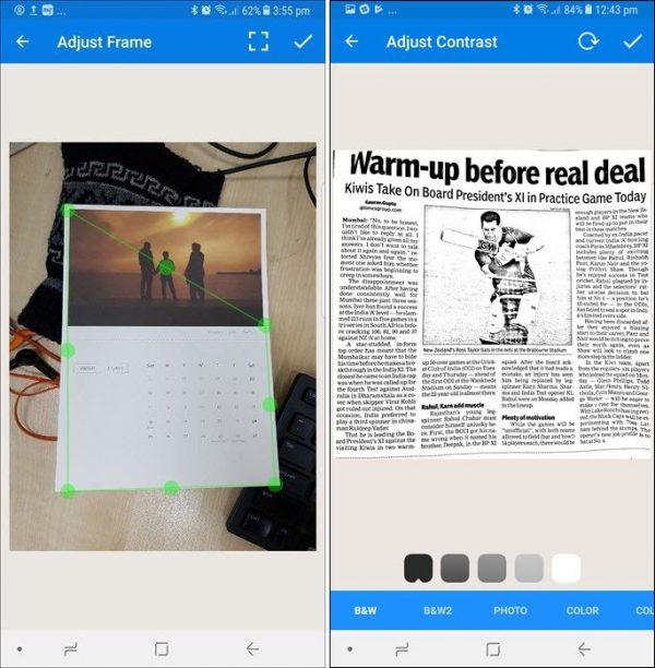 scan tài liệu miễn phí cho Android