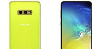 Galaxy S10e có màu vàng tươi, cạnh tranh với iPhone Xr