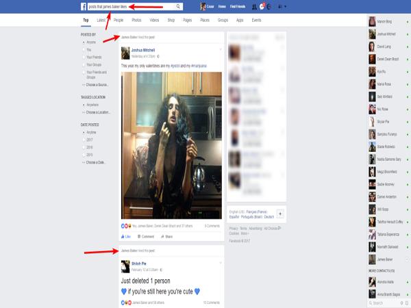 Cách xem nhật kí facebook của người khác bằngKiểm tra trực tiếp của người khác trên facebook