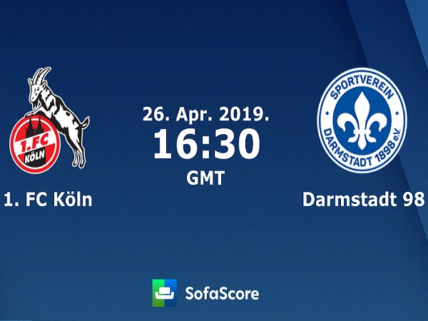 Nhận định Cologne vs Darmstadt, 023h30 ngày 26/4
