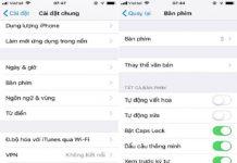 Thủ thuật tắt tính năng tự động viết hoa trên iPhone và iPad