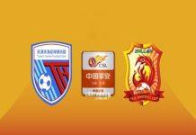 Nhận định Tianjin Tianhai vs Wuhan Zall 18h35, 18/10
