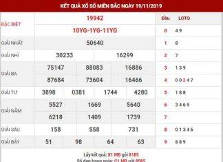 Dự đoán XSMB ngày 20/11/2019