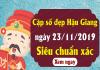 Dự đoán lô bạch thủ tỉnh hậu giang ngày 23/11