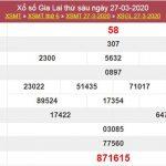 Dự đoán XSGL 24/4/2020 - Dự đoán KQXS Gia Lai thứ 6