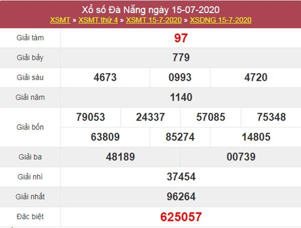 Dự đoán XSDNG 18/7/2020 - KQXS Đà Nẵng thứ 7
