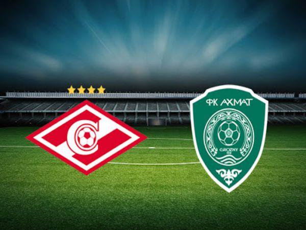 Nhận định soi kèo Spartak Moscow vs Akhmat Grozny