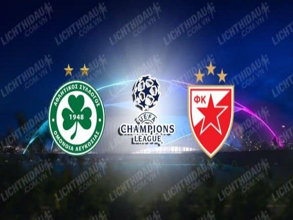 Nhận định bóng đá Omonia Nicosia vs Crvena Zvezda, 22h00 ngày 16/9