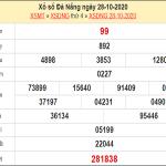 Dự đoán XSDNO 31/10/2020