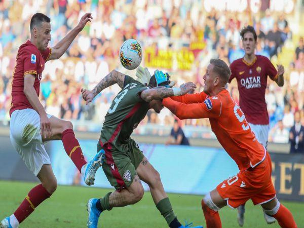 Nhận định tỷ lệ AS Roma vs Cagliari, 2h45 ngày 24/12 - VĐQG Italia