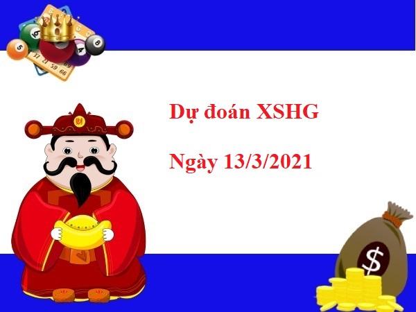 Dự đoán XSHG 13/03/2021