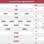 Dự đoán XSTV 16/04/2021
