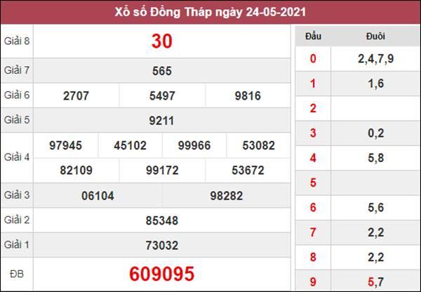 Dự đoán XSDT 31/5/2021 thứ 2 chốt cầu lô Đồng Tháp