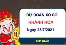 Dự đoán XSKH ngày 28/7/2021