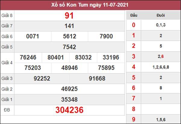 Dự đoán XSKT 18/7/2021 chủ nhật chốt lô VIP Kon Tum